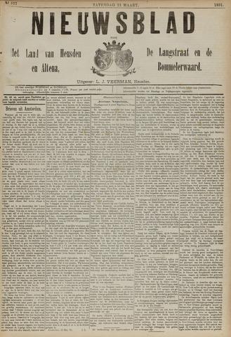 Nieuwsblad het land van Heusden en Altena de Langstraat en de Bommelerwaard 1891-03-21