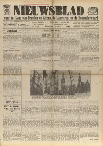 Nieuwsblad het land van Heusden en Altena de Langstraat en de Bommelerwaard 1941-04-16