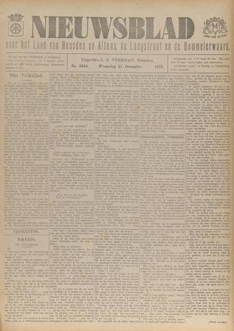 Nieuwsblad het land van Heusden en Altena de Langstraat en de Bommelerwaard 1918-12-11