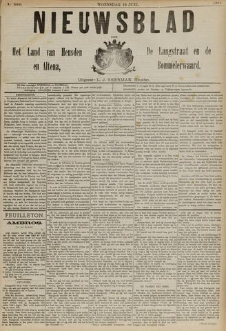Nieuwsblad het land van Heusden en Altena de Langstraat en de Bommelerwaard 1891-06-10