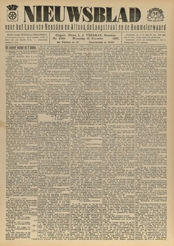 Nieuwsblad het land van Heusden en Altena de Langstraat en de Bommelerwaard 1927-11-16