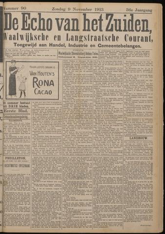 Echo van het Zuiden 1913-11-09