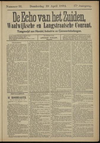 Echo van het Zuiden 1894-04-19