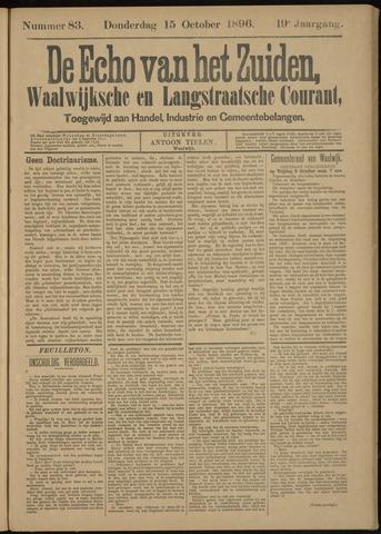 Echo van het Zuiden 1896-10-15