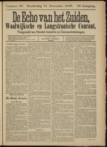 Echo van het Zuiden 1889-11-21