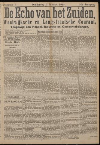 Echo van het Zuiden 1913-01-09