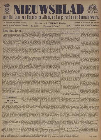 Nieuwsblad het land van Heusden en Altena de Langstraat en de Bommelerwaard 1917-01-03