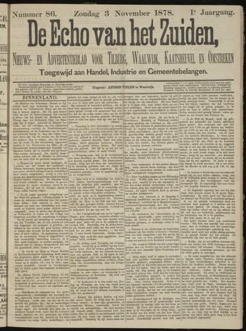 Echo van het Zuiden 1878-11-03
