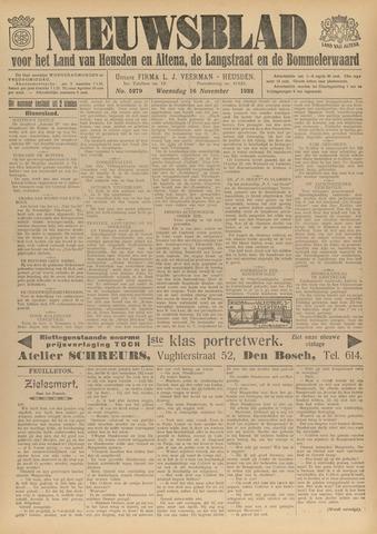 Nieuwsblad het land van Heusden en Altena de Langstraat en de Bommelerwaard 1932-11-16