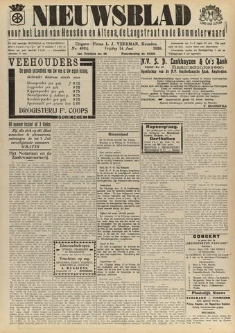 Nieuwsblad het land van Heusden en Altena de Langstraat en de Bommelerwaard 1929-06-14