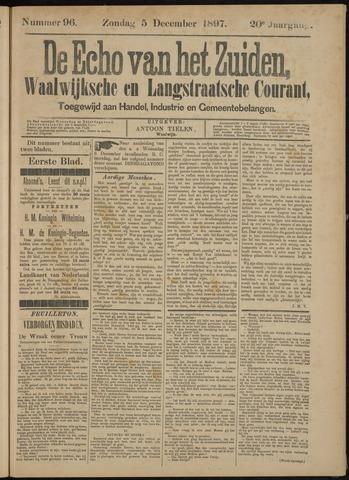 Echo van het Zuiden 1897-12-09