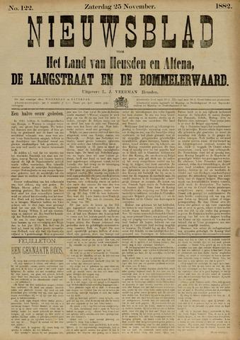 Nieuwsblad het land van Heusden en Altena de Langstraat en de Bommelerwaard 1882-11-25