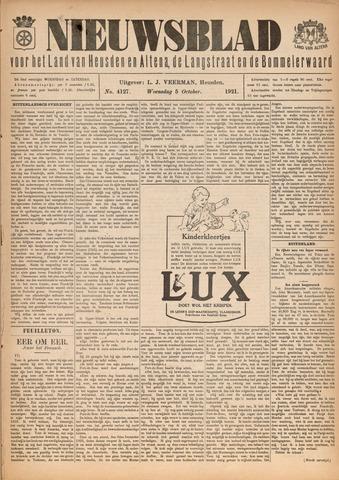 Nieuwsblad het land van Heusden en Altena de Langstraat en de Bommelerwaard 1921-10-05