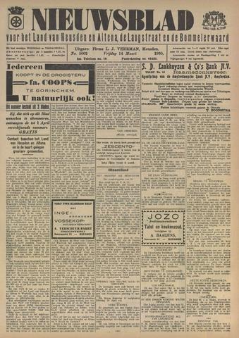 Nieuwsblad het land van Heusden en Altena de Langstraat en de Bommelerwaard 1930-03-14