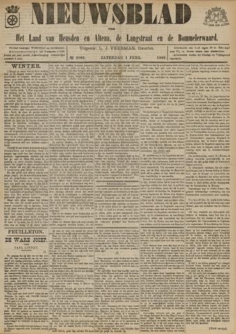Nieuwsblad het land van Heusden en Altena de Langstraat en de Bommelerwaard 1902-02-01