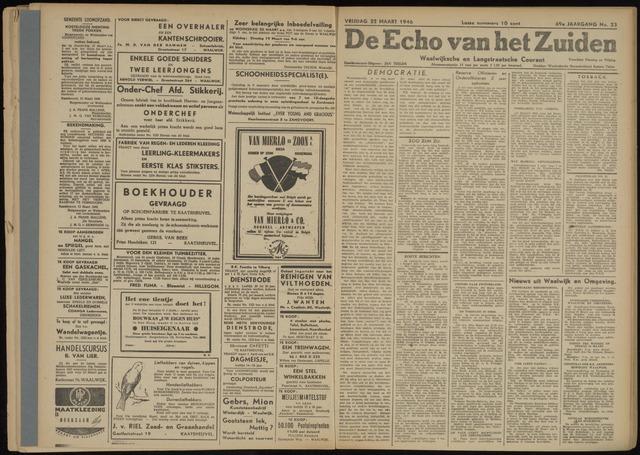 Echo van het Zuiden 1946-03-22