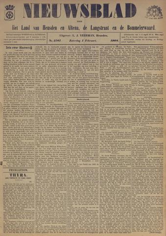 Nieuwsblad het land van Heusden en Altena de Langstraat en de Bommelerwaard 1908-02-01