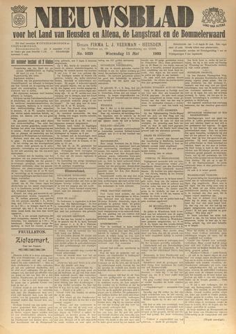 Nieuwsblad het land van Heusden en Altena de Langstraat en de Bommelerwaard 1932-05-11