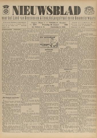 Nieuwsblad het land van Heusden en Altena de Langstraat en de Bommelerwaard 1925-01-28