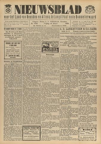 Nieuwsblad het land van Heusden en Altena de Langstraat en de Bommelerwaard 1928-03-16