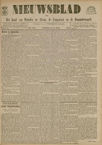 Nieuwsblad het land van Heusden en Altena de Langstraat en de Bommelerwaard 1899-06-14