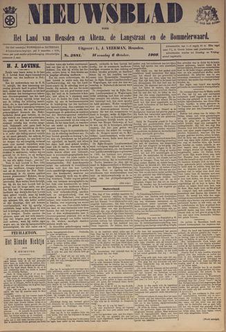 Nieuwsblad het land van Heusden en Altena de Langstraat en de Bommelerwaard 1909-10-06
