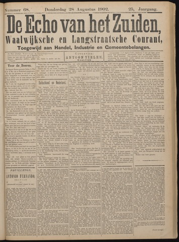 Echo van het Zuiden 1902-08-28