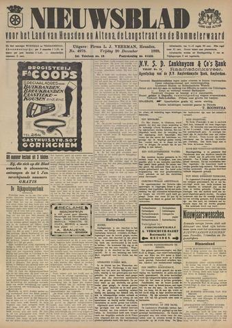 Nieuwsblad het land van Heusden en Altena de Langstraat en de Bommelerwaard 1929-12-20