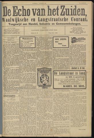 Echo van het Zuiden 1931-08-01