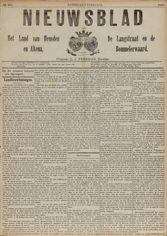 Nieuwsblad het land van Heusden en Altena de Langstraat en de Bommelerwaard 1890-02-08