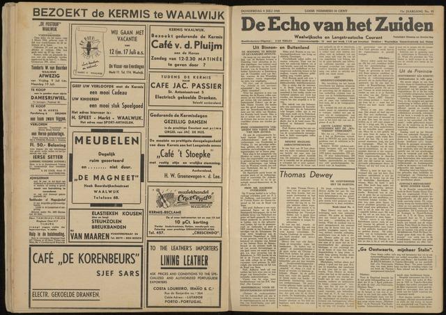 Echo van het Zuiden 1948-07-08