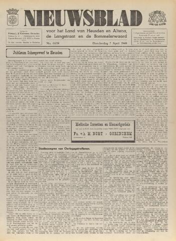 Nieuwsblad het land van Heusden en Altena de Langstraat en de Bommelerwaard 1949-04-07