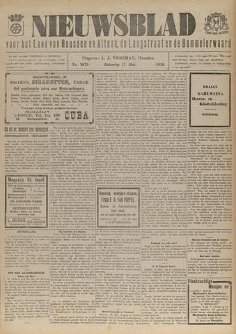 Nieuwsblad het land van Heusden en Altena de Langstraat en de Bommelerwaard 1919-05-17