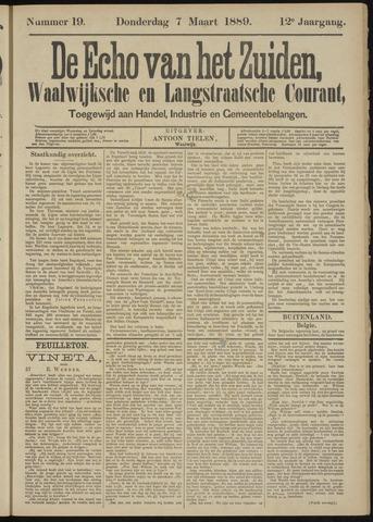 Echo van het Zuiden 1889-03-07