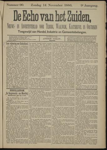 Echo van het Zuiden 1886-11-14