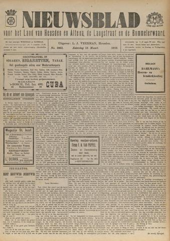 Nieuwsblad het land van Heusden en Altena de Langstraat en de Bommelerwaard 1919-03-15