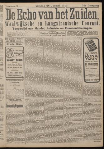 Echo van het Zuiden 1912-01-28
