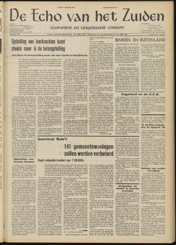 Echo van het Zuiden 1963-02-01