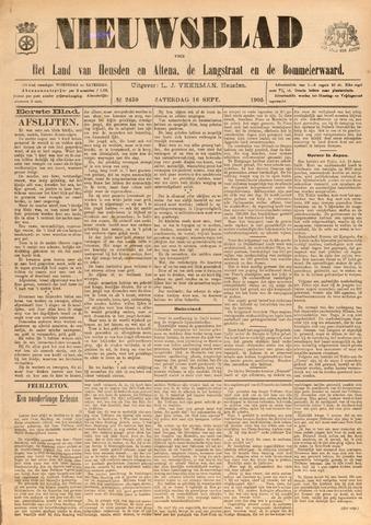 Nieuwsblad het land van Heusden en Altena de Langstraat en de Bommelerwaard 1905-09-16