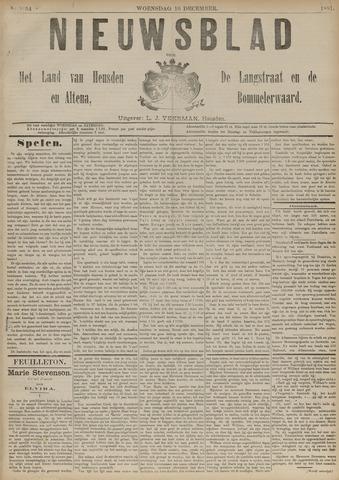 Nieuwsblad het land van Heusden en Altena de Langstraat en de Bommelerwaard 1891-12-16