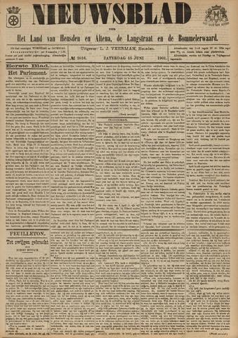 Nieuwsblad het land van Heusden en Altena de Langstraat en de Bommelerwaard 1901-06-15