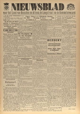 Nieuwsblad het land van Heusden en Altena de Langstraat en de Bommelerwaard 1932-03-16