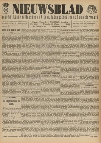 Nieuwsblad het land van Heusden en Altena de Langstraat en de Bommelerwaard 1923-03-28