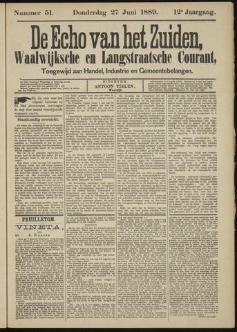 Echo van het Zuiden 1889-06-27