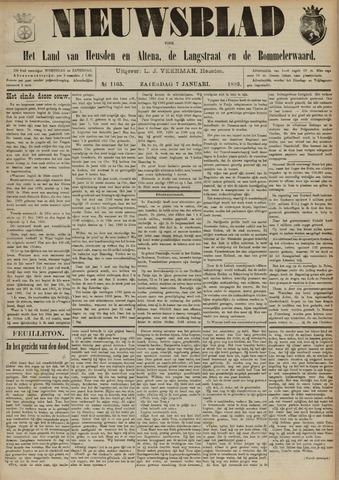 Nieuwsblad het land van Heusden en Altena de Langstraat en de Bommelerwaard 1893-01-07