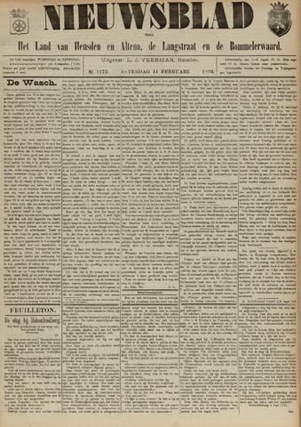 Nieuwsblad het land van Heusden en Altena de Langstraat en de Bommelerwaard 1893-02-11