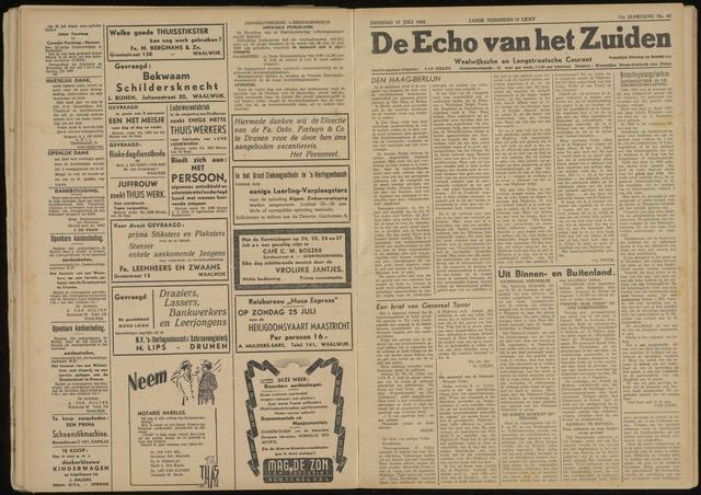 Echo van het Zuiden 1948-07-27