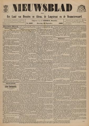 Nieuwsblad het land van Heusden en Altena de Langstraat en de Bommelerwaard 1906-09-29