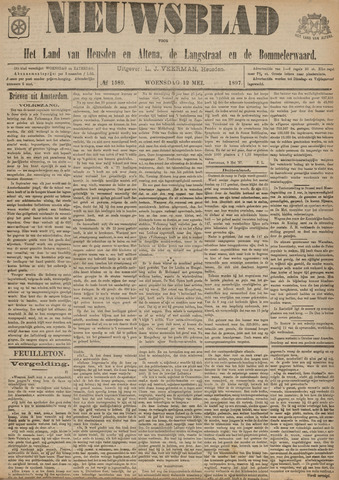 Nieuwsblad het land van Heusden en Altena de Langstraat en de Bommelerwaard 1897-05-12