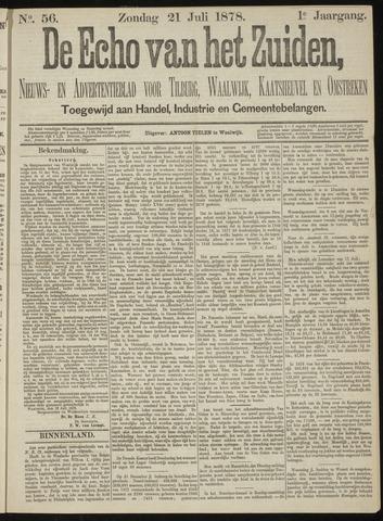 Echo van het Zuiden 1878-07-21